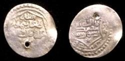 World Coins - Mongol Illkhanid Taghay Timur AH 737-754.AR half dirham.Rare