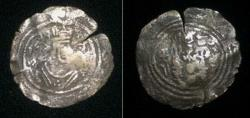Ancient Coins - Sassanian Anonumious type AE Unit.AD 3rd to 5th Century.