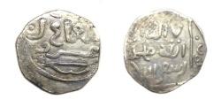 Ancient Coins - Mongol Ugudei khan AR Dirham 1227-1241 AD