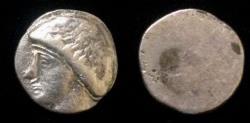 Ancient Coins - Early Sythian of Soghdiana. The Dahae Ca Ist century BC AR Drachm.