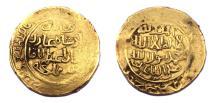 World Coins - Illkhanid,Abaqa Khan.AH 663-680.Dinar.Rare