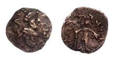 Ancient Coins - kajula Kadphises AD 15.Struck in  Kapisa AE drachm.