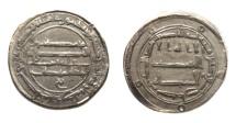 Ancient Coins - Abbasid AR dirham Kirman 169h.