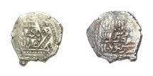 Ancient Coins - Mongol Ilkhans Ghazan Mehmood with title Badshah Ghazan AH 694-703.mint of Kabudjameh.Rare