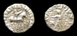 Ancient Coins - Indo-Sythian Azes II.Circa 35 BC-AD 5.AR drachm.