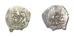 Ancient Coins - Mongol Ilkhans Ghazan Mehmood with title Badshah Ghazan AH 694-703.mint of Kabudjameh.Rare