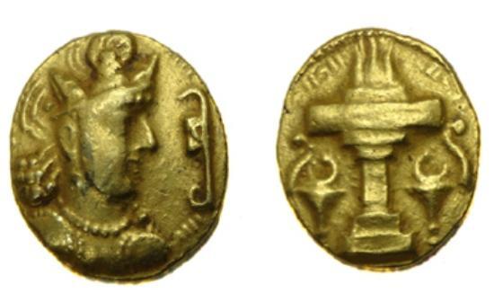 Ancient Coins - Sassanian Shapur II AD 309-379 AV Dinar.