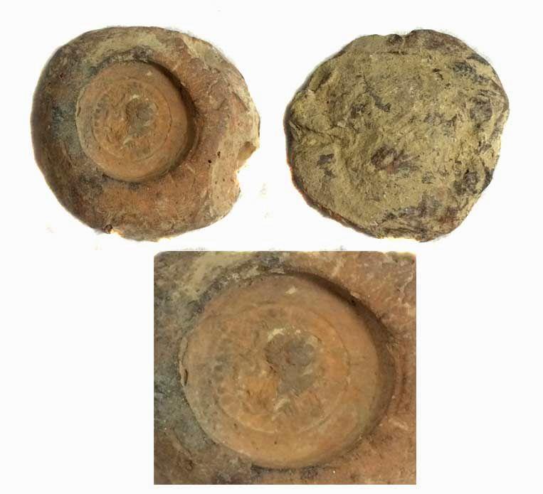 Ancient Coins - Sassanian Clay Bullae,5th Century AD.Rare