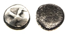 Ancient Coins - Early Sythian of Soghdiana.The Dadae.Ca Ist Century BC.AR drachm.