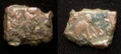 Ancient Coins - Indo-Greek Zoilos II. Era 75-50 BC. AE Chalkous