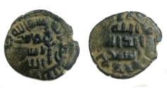 World Coins - Umayyad fals Tabariya,ND.