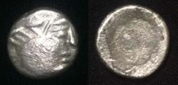 Ancient Coins - Early Sythian of Soghdiana. The Dahae Ca Ist century BC AR Drachm.