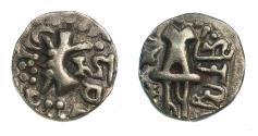 Ancient Coins - India.kidarites of Punjab.c.7th CE.Base Gold dinar.