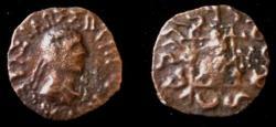 Ancient Coins - Indo-Greek kushan Hermaeus.Circa 40.AE Drachm.