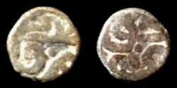 World Coins - Great Mongol Khans.Anonymous AE jital.mint of Nimruz.Rare.
