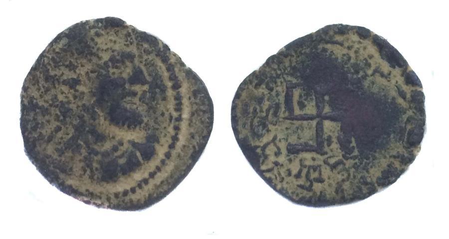 Ancient Coins - Parata Raja Uncertain ruler.AE drachm.2nd-3rd Century AD.