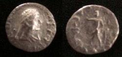 Ancient Coins - Indo-Greek Archebios.Circa 80-60 BC.AR drachm.