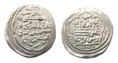 World Coins - Mongol Illkhanid Uljaitu Ibn Arghun.2 dirham mint of Jurjan.AH 703-717.