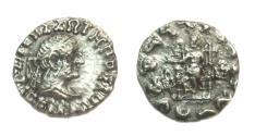 Ancient Coins - Indo-Greek Hermaeus  CA105-90 BC,AR drachm.