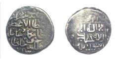 Ancient Coins - Timurid Sultan Mohammad AH.850-855.AR Tanka.