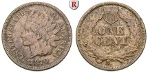 Us Coins - USA, Cent 1870