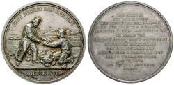 Ancient Coins - SACHSEN (SAXONY), SACHSEN-ALBERTINISCHE LINIE, Friedrich August II., 1733-1763, Silver medal 1847