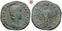 Ancient Coins - Julia Mamaea, mother of Severus Alexander, +235, Sestertius 228 Rome