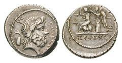 Ancient Coins - M. Nonius Sufenas, 59 BC, Denarius 59 BC Rome