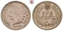 Us Coins - USA, Cent 1864 Philadelphia