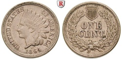 Us Coins - USA, Cent 1864 Philadelphia
