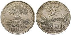Ancient Coins - ANHALT, ANHALT-BERNBURG, Victor Friedrich, 1721-1756, Silver medal 1759