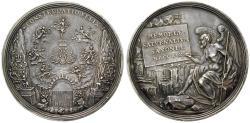 Ancient Coins - SACHSEN (SAXONY), SACHSEN-ALBERTINISCHE LINIE, Friedrich August I., 1694-1733, Silver medal 1719