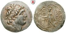 Ancient Coins - SYRIA, SELEUCID KINGDOM, Antiochos VII, 138-129 BC, Tetradrachm Posthabout after 129 v. Chr. Mint in Cappadocia