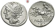 C. Coelius Caldus, 51 BC, Denarius 104 BC Rome
