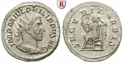 Ancient Coins - Philippus I, 244-249, Antoninianus 244-247 Rome