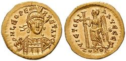 Ancient Coins - Leo I, 457-474, Solidus 457-568 Constantinopolis