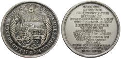 Ancient Coins - ANHALT, ANHALT-BERNBURG-HARZGERODE, Wilhelm, 1670-1709, Silver medal 1693