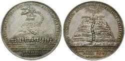 Ancient Coins - BRUNSWICK, BRUNSWICK-CALENBERG-HANNOVER, Georg I Ludwig, 1698-1727, Silver medal 1730