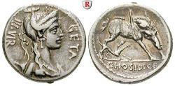 Ancient Coins - C. Hosidius Geta, 68 BC, Denarius 68 BC Rome
