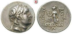 Ancient Coins - CAPPADOCIA, KINGDOM OF CAPPADOCIA, Ariarathes V., 163-130 BC, Drachm year 33 = 131-130 BC