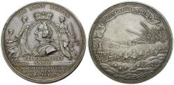 Ancient Coins - ANHALT, ANHALT-KÖTHEN-PLÖTZKAU, Karl George Leberecht, 1755-1789, Silver medal 1755