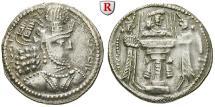Ancient Coins - SASSANIAN KINGDOM, Shapur II., 309-379 AD, Drachm 309-379