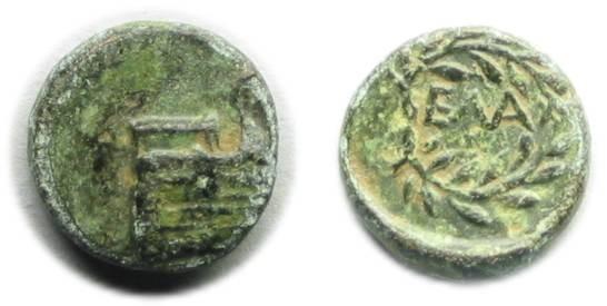 Ancient Coins - Elaea, Aeolis