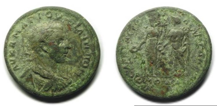 Ancient Coins - Sagalassos and Sparta; Homonoia; Philip II.