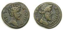 Ancient Coins - Lampsacus, Mysia; Marcus Aurelius