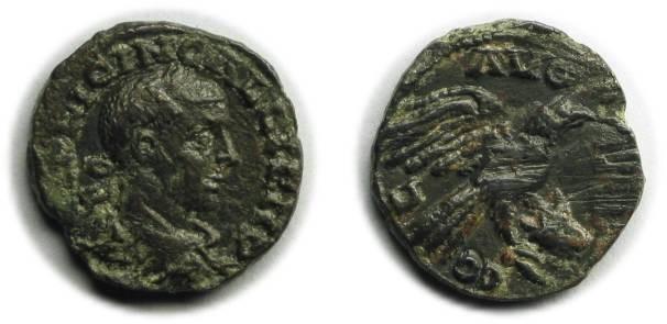 Ancient Coins - Alexandria, Troas; Gallienus