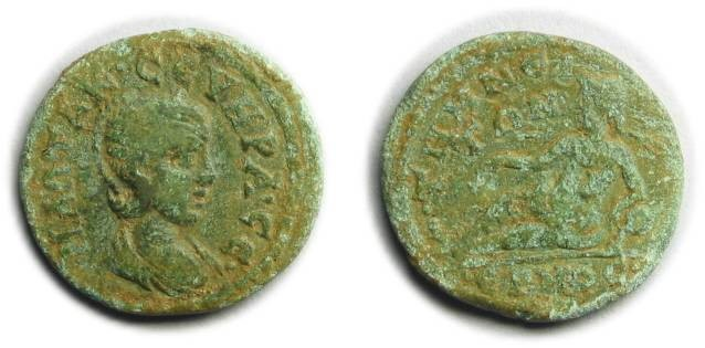 Ancient Coins - Temnus, Aeolis; Otacilia Severa