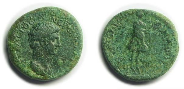 Ancient Coins - Hierocaesareia, Lydia; Nero