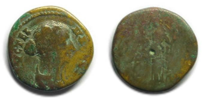 Ancient Coins - Traianopolis, Thrace; Faustina II.
