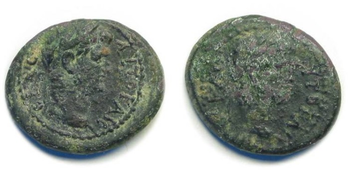 Ancient Coins - Germe, Mysia; Titus and Domitian